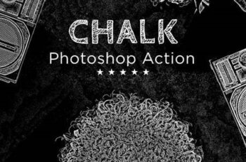 Chalk Photoshop Action 26340279 7