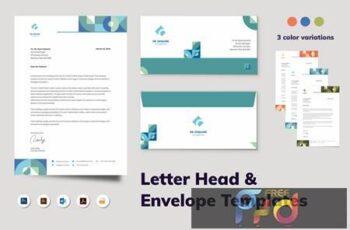 Letterhead Envelope Stationery N8DH4K4 5
