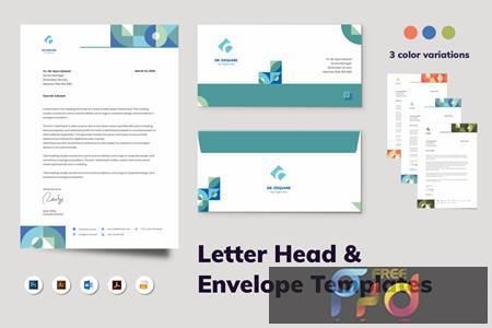 Letterhead Envelope Stationery N8DH4K4 1