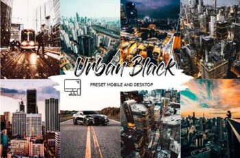 URBAN BLVCK - Lightroom Preset + LUT 4826107 4