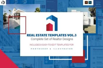 Real Estate Templates Pack Vol.3 4410440 7