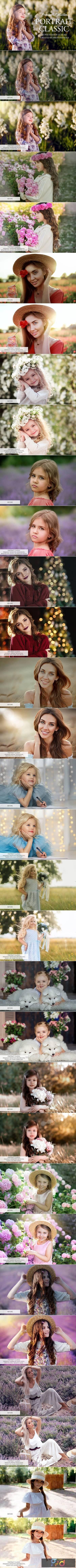 Classic Portrait Photoshop Actions 3545232 1