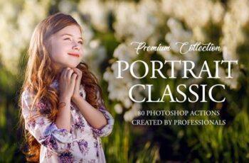 Classic Portrait Photoshop Actions 3545232 7