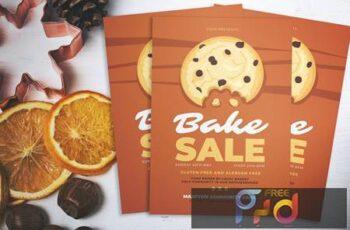 Bake Sale Day Flyer PQWW6MT
