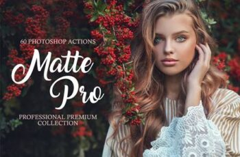Matte Pro Photoshop Actions 3582428 6
