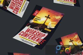 Church Conference Flyer X9QHPZ5 2