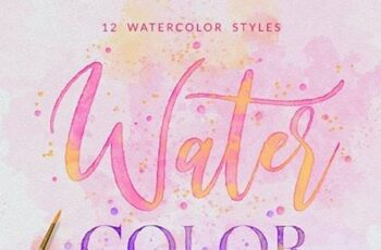 Watercolor Painting - Photoshop Action 25787736 6
