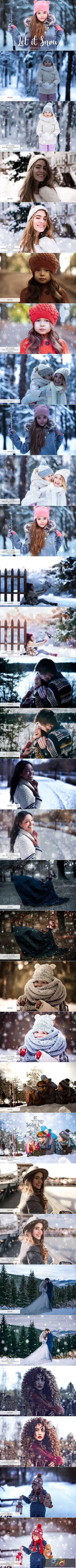 Let it Snow Lightroom Presets 3416139 1