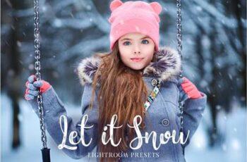 Let it Snow Lightroom Presets 3416139 6