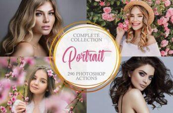 Portrait Photoshop Actions-Complete 3803892 3