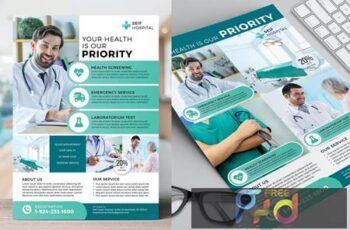 Hospital Flyer Template VUCQSUH 4
