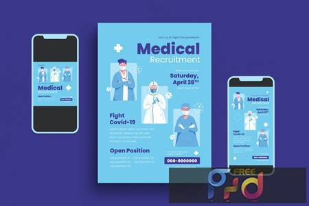 Medical Recruit Flyer Set 79LBJ2U 1