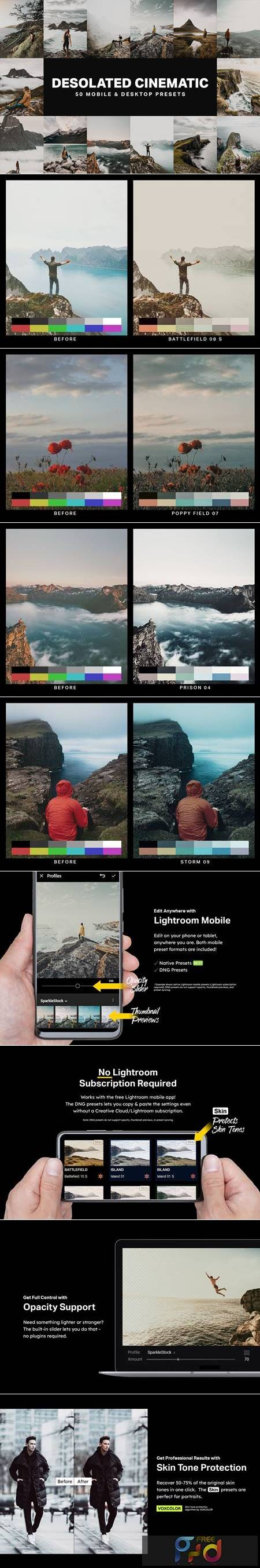 50 Desolated Cinematic Lightroom Presets 4755397 1