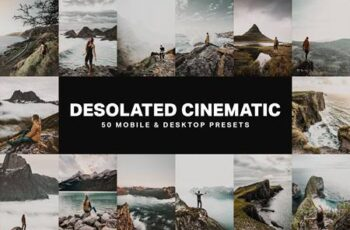 50 Desolated Cinematic Lightroom Presets 4755397 7