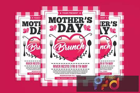 Mothers Day Brunch Flyer N5BJE8G 1