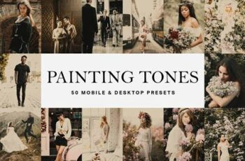 50 Painting Tones Lightroom Presets and LUTs 4756084 6