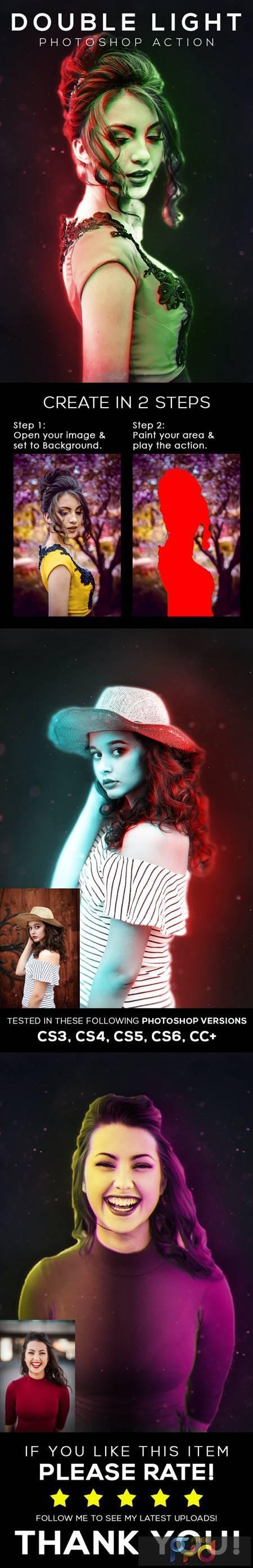 Double Light Photoshop Action 26459912 1