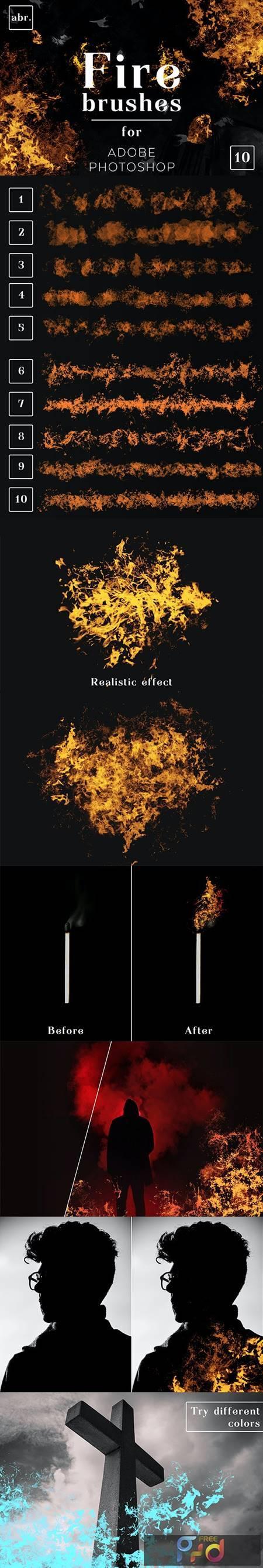 Fire Photoshop Brushes 26427935 1