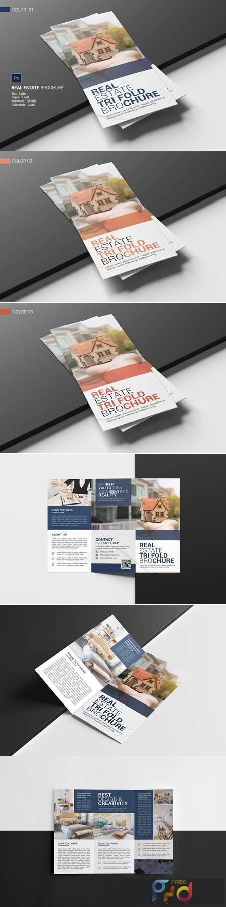 Real Estate Trifold Brochure 4686410 1