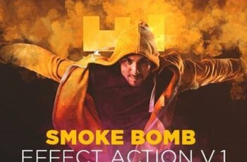 Smoke Bomb Effect Action V.1 26468536 5
