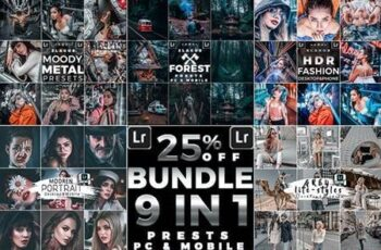 Artistic Collection Bundle Presets (Mobile & Desktop) 26428921 3
