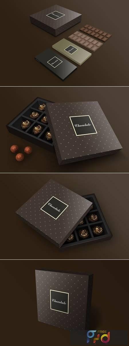 Chocolate box mockup 1