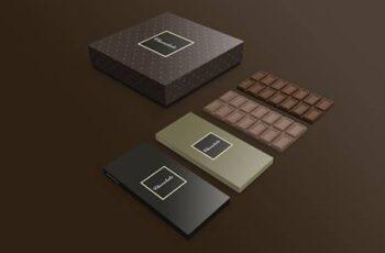 Chocolate box mockup 3