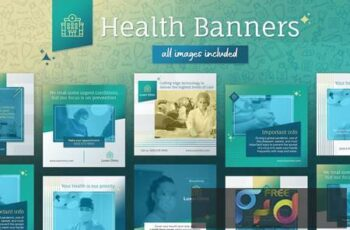 Health Banners for Instagram and Facebook RGEWU3V 5