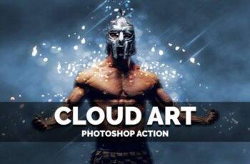 Cloud Art Photoshop Action 4028843 6