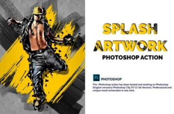 Splash Artwork Photoshop Action 4028784 3