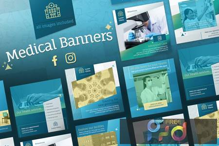 Medical Banners for Facebook and Instagram RDCUYRE 1