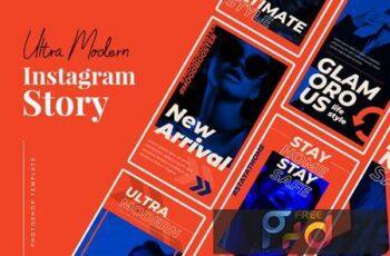 Ultra Modern Instagram Story J4XAM36 2