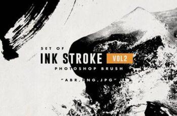 Set of Ink Stroke 2 Brush 4863685 3
