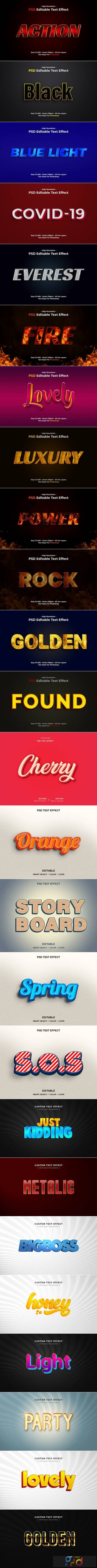 PSD Text Effects 1
