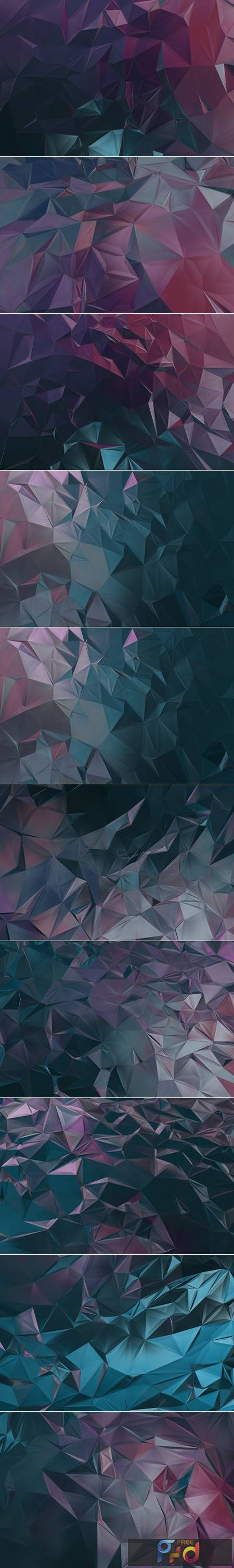 Abstract Polygon Backgrounds B7V2BB3 1