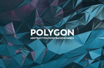 Abstract Polygon Backgrounds B7V2BB3 8