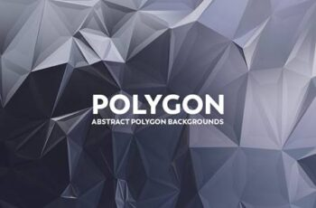 Abstract Polygon Backgrounds ZVABQ37 7