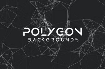 Polygon Mesh Background Set K92W3UC