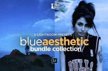 BLUE AESTHETIC Lightroom Presets 4619090 7