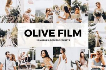 20 Olive Film Lightroom Presets LUTs 4904248 4