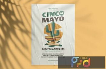 Cinco De Mayo Flyer PU4D8R4