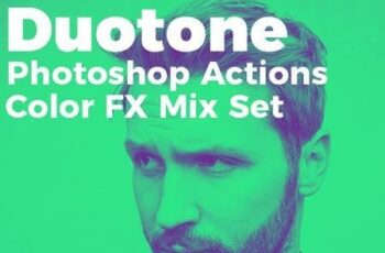 Duotone Photoshop Actions Color FX Mix Set 26470234 6
