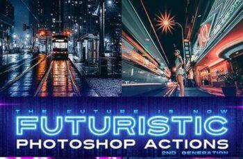 Futuristic Gen 2 Photoshop Actions 25230343 4