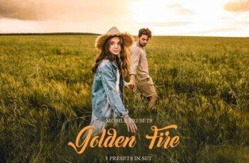 Golden Fire Mobile Presets 4032748 4