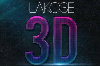 Lakose 3D Text Styles Part 44 23320161 5