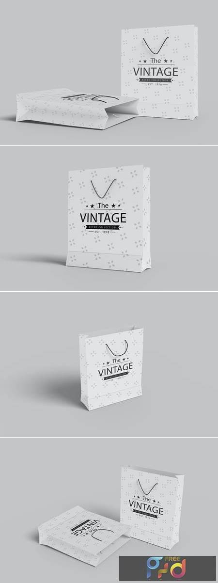 Shopping Bag Mockup V.1-4 1