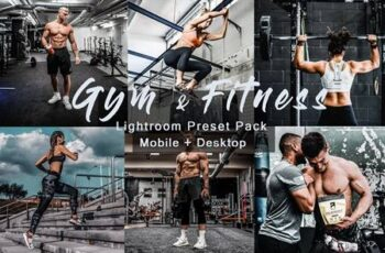 Gym & Fitness - Lightroom Presets 4815614 6
