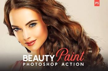 Beauty Paint Photoshop Action 4795330 2