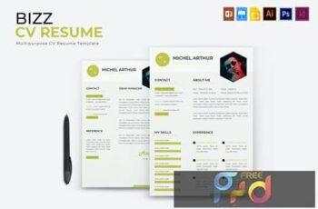 Bizz - CV & Resume JSRPQ2J 7