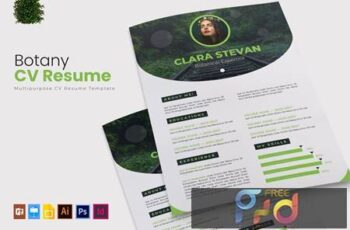 Botany - CV & Resume 35L6FDT 4